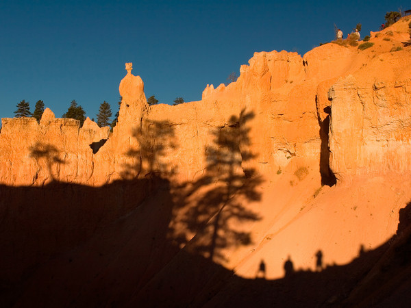 Bryce Canyon, Queens Garden Trail At Sunrise Point