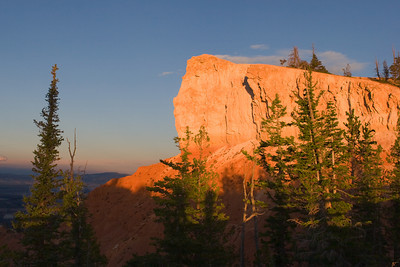 Bryce Canyon, Rainbow Point at Sunset