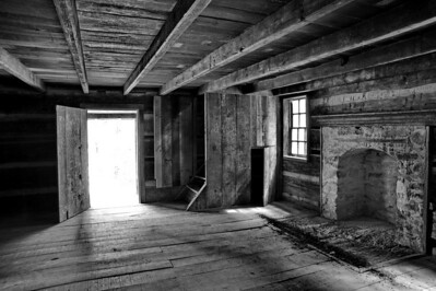 Carter Shields Cabin (Interior)