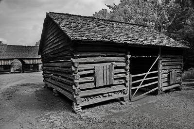 Corn Crib at Tipton Place