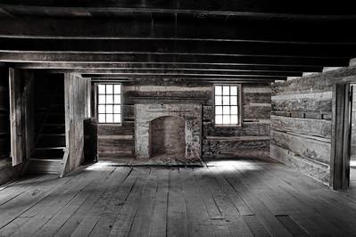 Interior of the Carter Shield Cabin