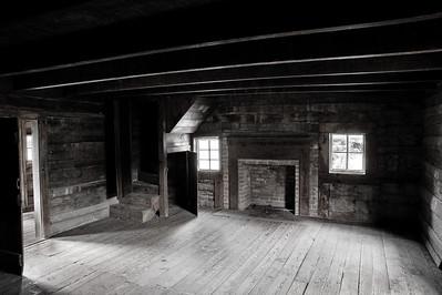 Interior of the Dan Lawson Place