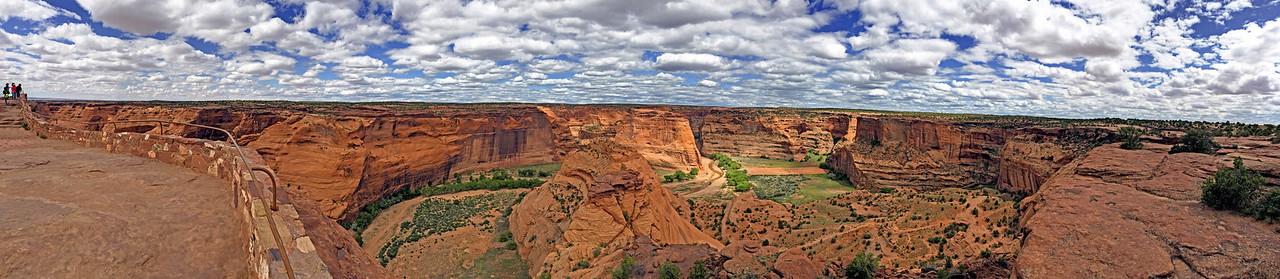 Canyon de Chelly panorama