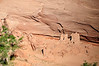 Here is a closer view of the ancient Anasazi Indian ruins shown in the previous image.