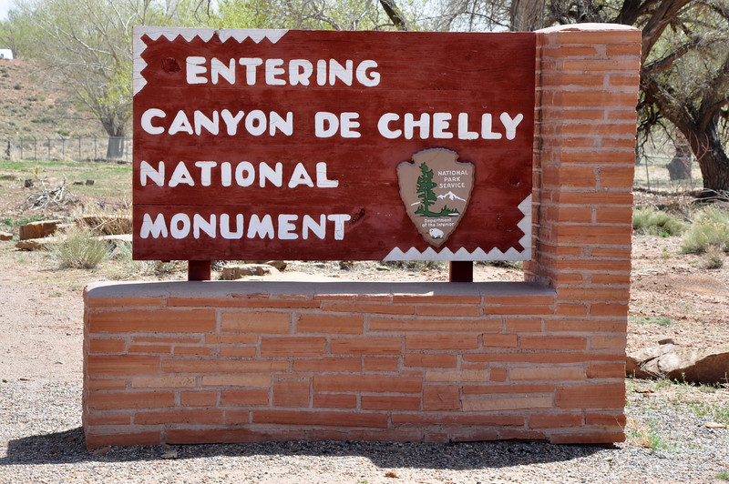 Canyon de Chelly National Monument entrance
