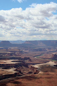 Green River Overlook in Canyonlands National Park, Utah in September 2006.