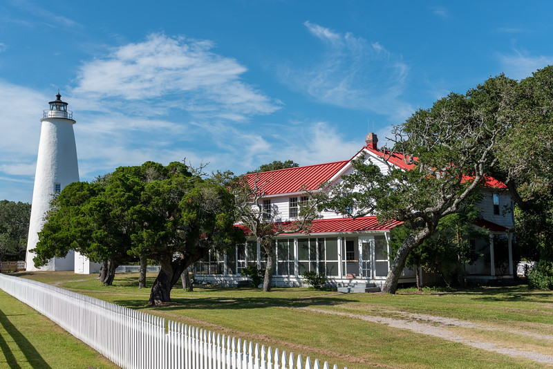 Ocracoke Lighthouse & Keepers Quarters