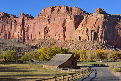 Barn in the Historic Fruita District of Capitol Reef National Park