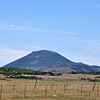 Capulin Volcano in the distance