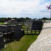 Castillo de San Marcos National Monument, Florida in July 2010.