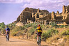 Cyclist at Chaco Culture Nat'l Historical Park, New Mexico - 5-2 - 72 ppi