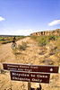 Cyclist at Chaco Culture Nat'l Historical Park, New Mexico - 12 - 72 ppi