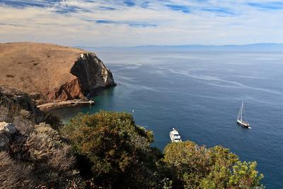 Scorpion Anchorage  Additional Santa Cruz Island photos:  http://www.timhaufphotography.com/ChannelIslandsNationalPark/Santa-Cruz-Island-Crown-Jewel