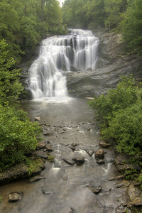 Bald River Falls along the Cherohala Skyway in TN on Thursday, July 23, 2015. Copyright 2015 Jason Barnette  The Cherohala Skyway is a National Scenic Byway connecting the cities of Tellico Plains, Tennessee and Robbinsville, North Carolina. The 43-mile scenic highway features hiking trails, scenic overlooks, and natural vistas.