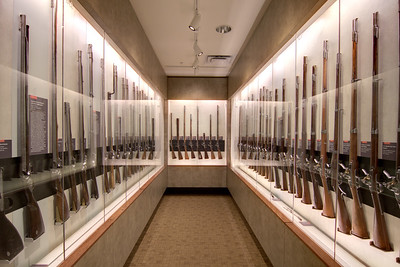 The Fuller Gun Collection, an exhibit containing over 300 guns spanning decades, on display at the visitor center at Chickamauga & Chattanooga National Military Park in Fort Oglethorpe, GA on Thursday, July 23, 2015. Copyright 2015 Jason Barnette