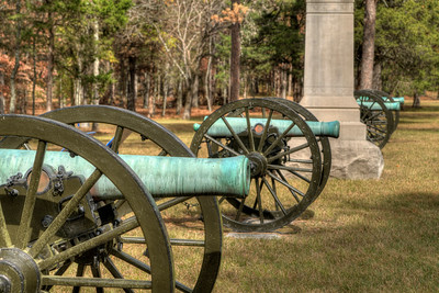 Canons at Chickamauga & Chattanooga National Military Park
