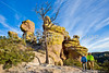 Grottoes Trail, Chiricahua Nat'l Mon in Arizona -  D7-C2#3  -0024 - 72 ppi