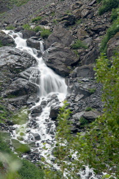 Water through the Rocks