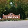 Entering historical Yorktown