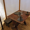 Supper table - Continental Army encampment