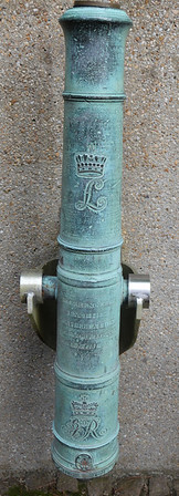 Captured British Cannon