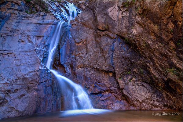 Bottom fall of Seven Falls.