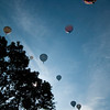 Annual Balloon Festival held in Colorado Spring.