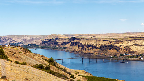 US 97 River Crossing Near Maryhill