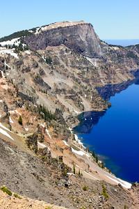 Crater Lake National Park, June 2008.