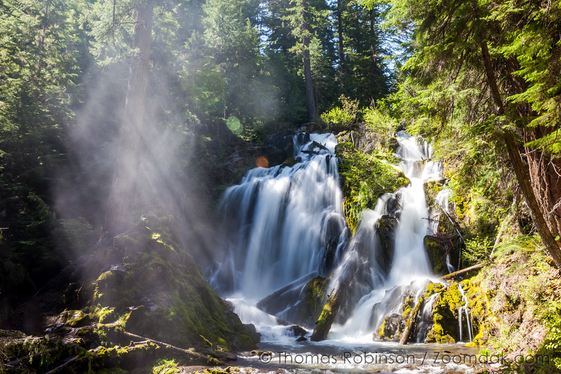 Light Beams, National Creek Falls