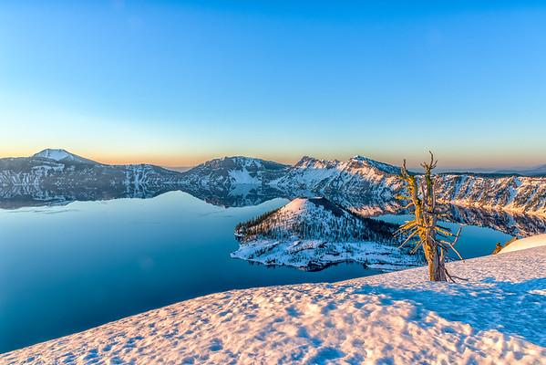 Crater Lake Sunrise - Crater Lake