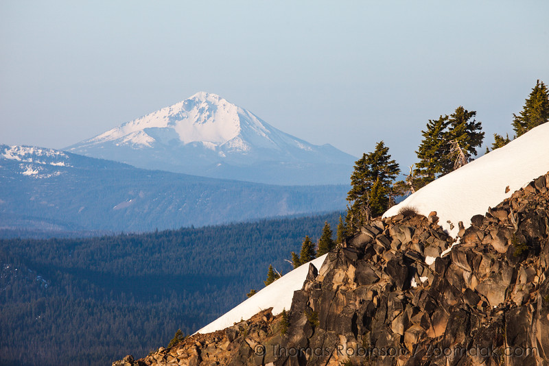 Mt. Shasta Seen From Crater Lake