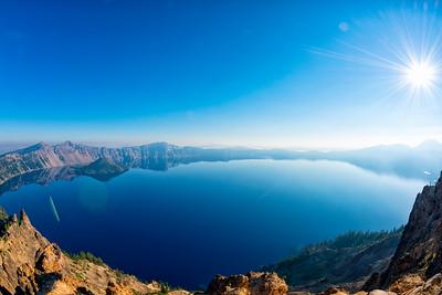 Crater Lake Fish Eye - Crater Lake-8