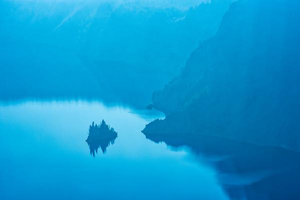 Crater Lake Phantom Ship - Crater Lake