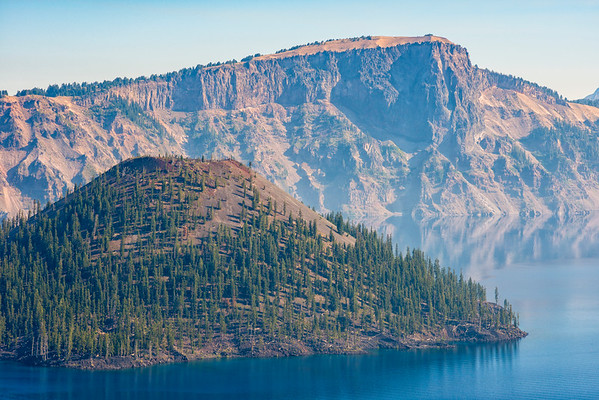 Wizard Island and Llao Rock - Crater Lake-2