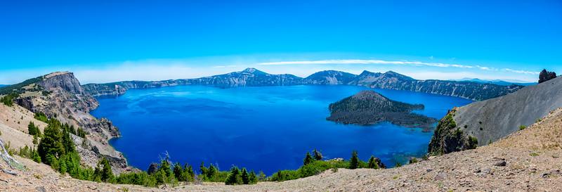 Crater Lake Panorama - Crater Lake-4