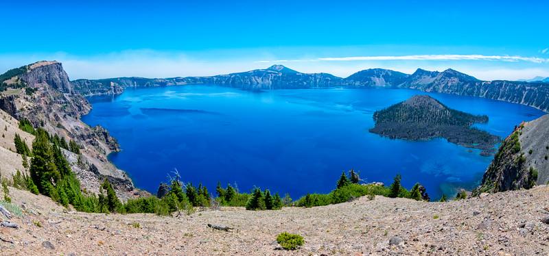 Crater Lake Fish Eye - Crater Lake-7
