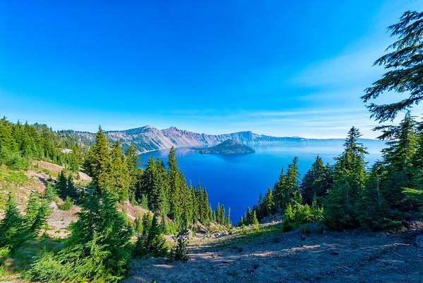Crater Lake Fish Eye - Crater Lake-5