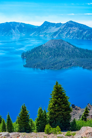Crater Lake Wizard Island - Crater Lake