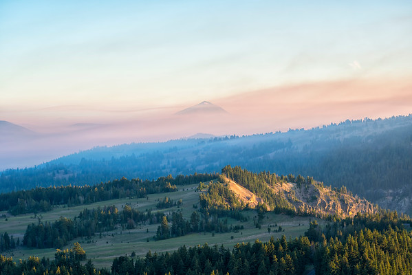 Smokey Hills Dry Butte - Crater Lake