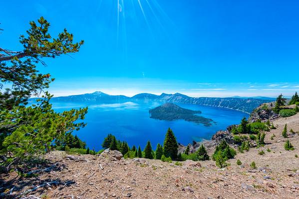 Crater Lake Fish Eye - Crater Lake-6