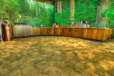 Interior of the Visitors Center at Cumberland Gap National Historical Park in Middlesboro, KY on Tuesday, April 24, 2012. Copyright 2012 Jason Barnette