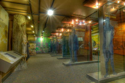 Interior of an exhibit at the Visitors Center at Cumberland Gap National Historical Park in Middlesboro, KY on Tuesday, April 24, 2012. Copyright 2012 Jason Barnette