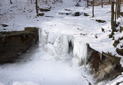 Blue Hen Falls in Winter