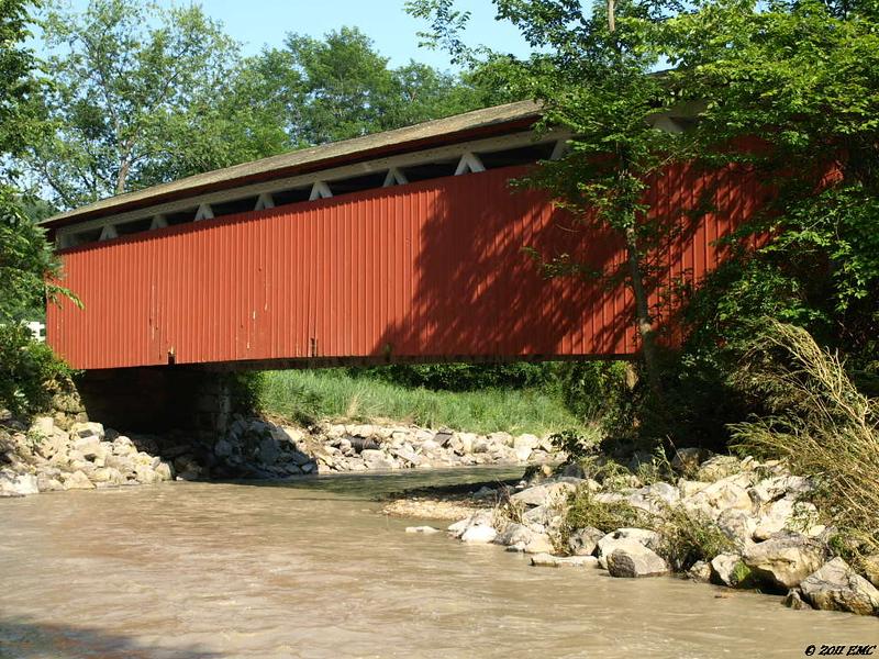 Bridge Over the Furnace Run Stream