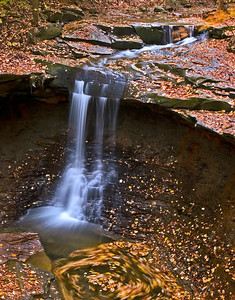 Blue Hen Falls in the fall
