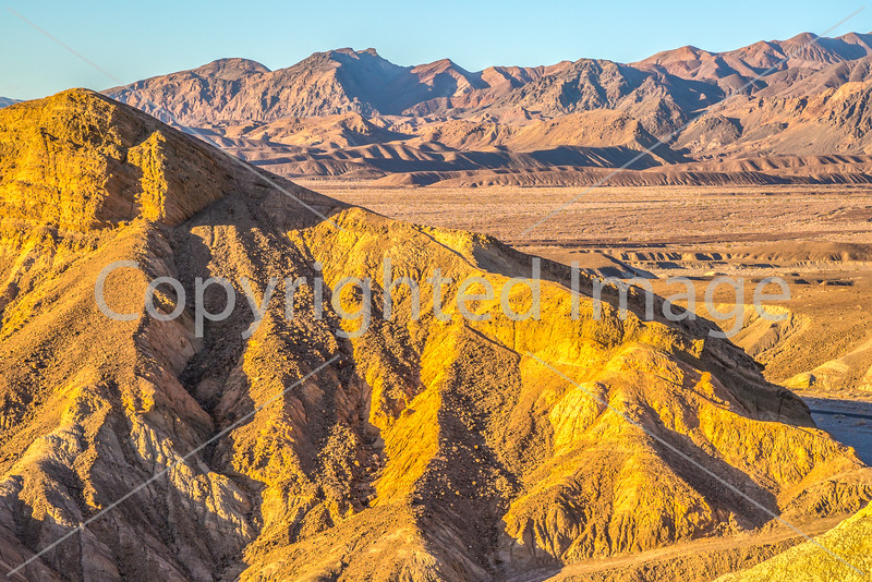 Sunset views from Zabriskie Point in Death Valley National Park - D3-C3-0115 - 72 ppi