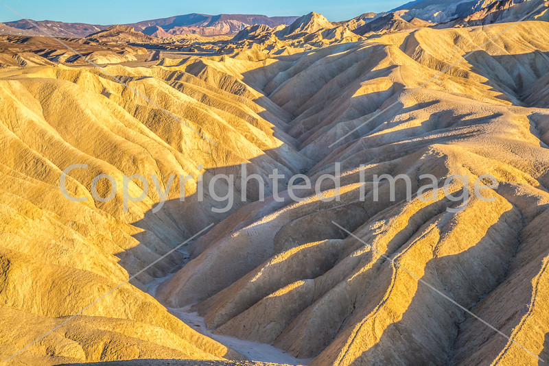Sunset views from Zabriskie Point in Death Valley National Park - D3-C3-0121 - 72 ppi