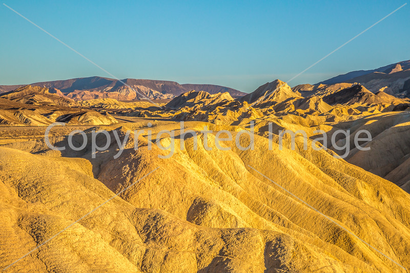 Sunset views from Zabriskie Point in Death Valley National Park - D3-C3-0110 - 72 ppi