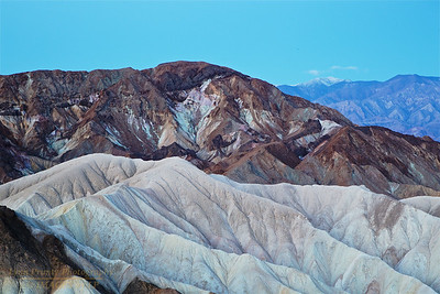 DV-180420-0005 Zabriskie Point before Sunrise with Telescope Peak in the Distance